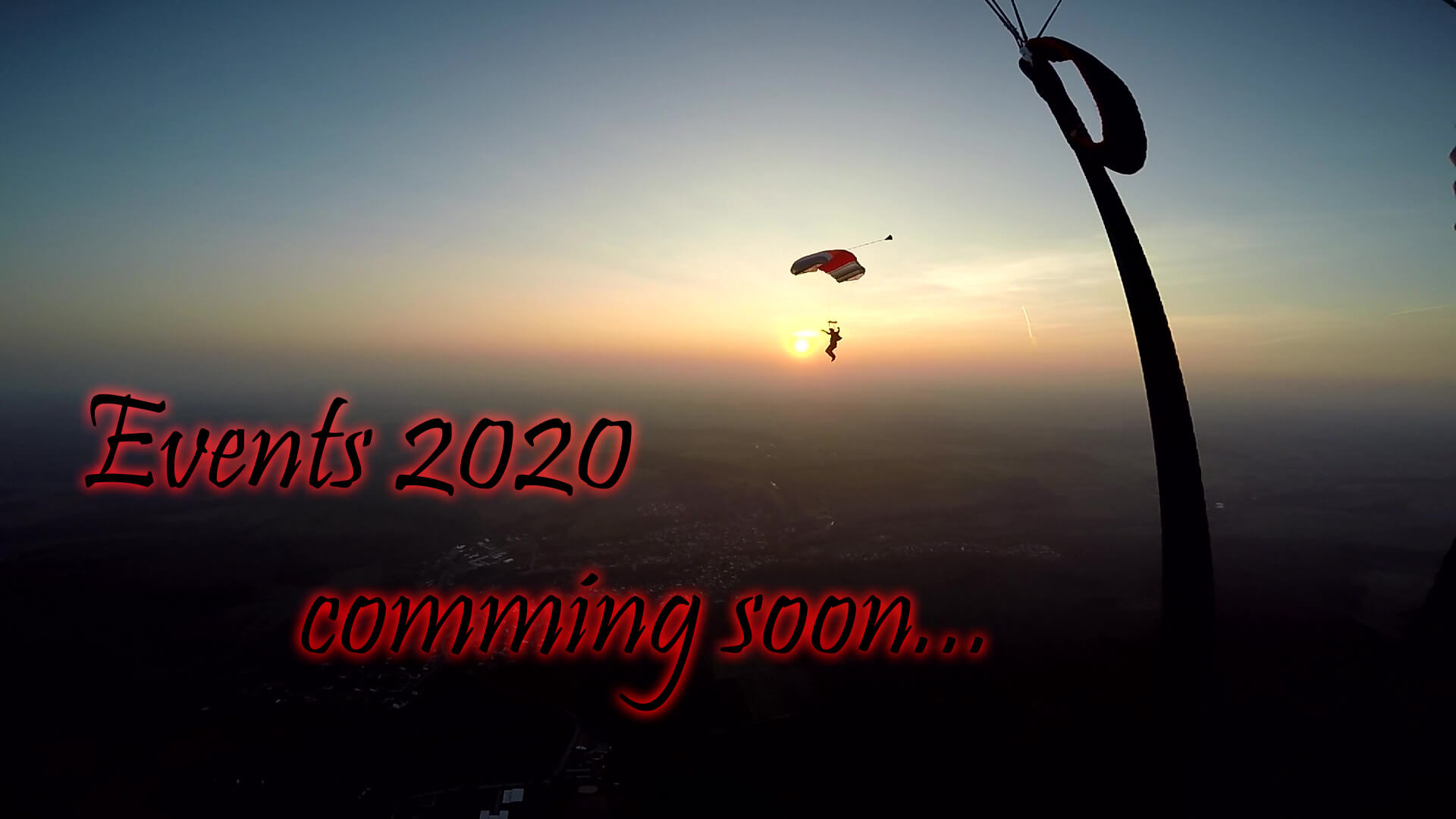 Events 2020 comming soon
